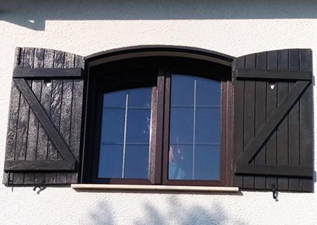 Portadas PVC para portas e janelas